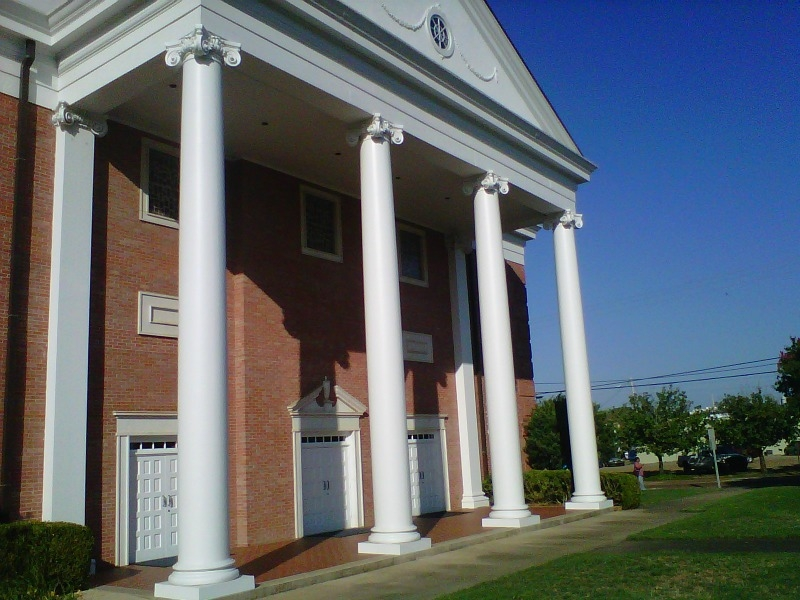Columns for church pourch joy studio design gallery for Exterior decorative columns