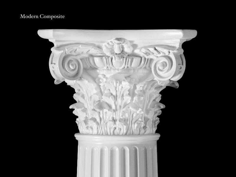 Architectural Columns And Pillars : Capitals bases