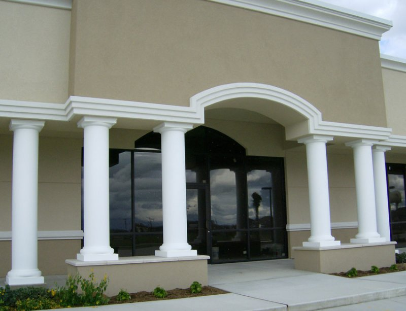 Exterior columns image gallery melton classics inc for Exterior decorative columns