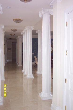 1000 images about columns on pinterest for Fiberglass interior columns