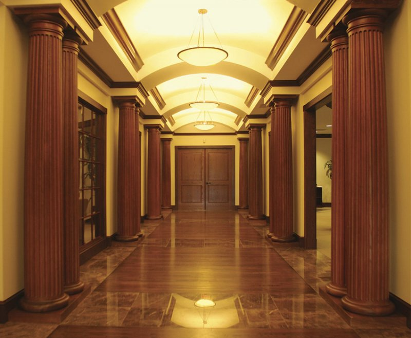 Interior columns image gallery melton classics inc for Interior post designs
