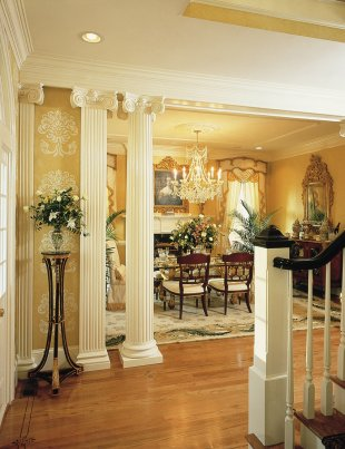 Square columns image gallery melton classics inc for Interior square columns