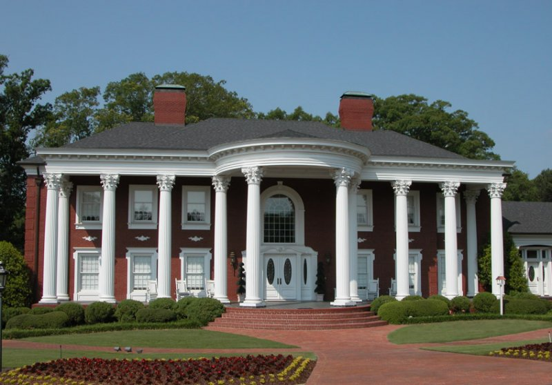 Support columns image gallery melton classics inc for House plans with columns