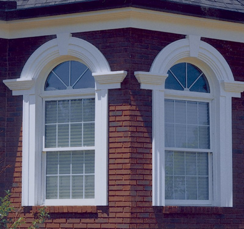 Architectural urethane polyurethane window features image for Architectural trim