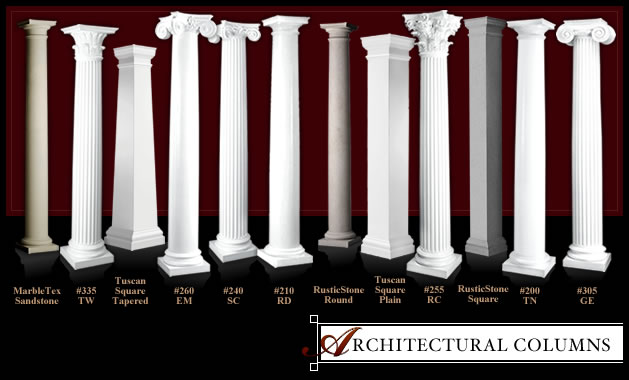 architectural columns line of products