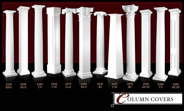 Column Wraps and Column Covers by MeltonCraft