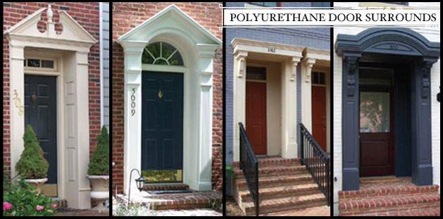 Architectural Urethane Polyurethane Door Surrounds