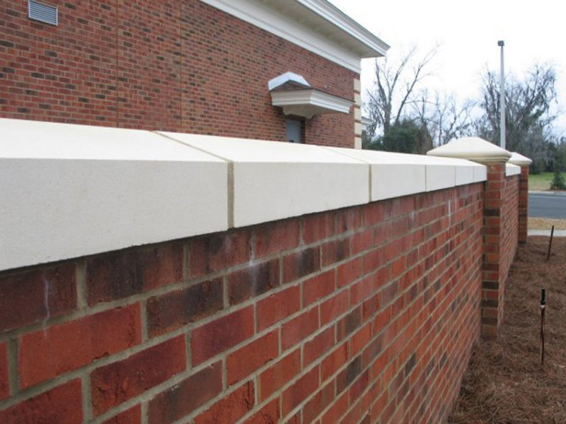 Meltonstone cast stone wall coping image gallery 1157 workwithnaturefo