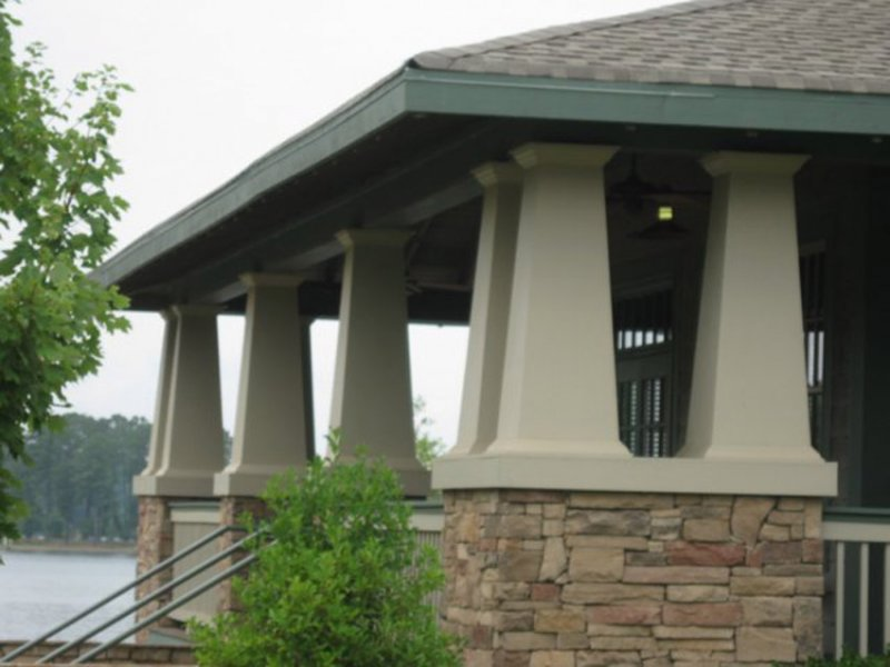 Craftsman Architectural Columns : Meltoncraft pvc column covers image gallery