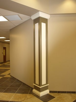 Square columns image gallery melton classics inc for Decorative columns interior