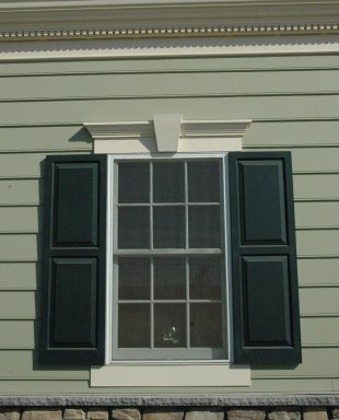 Exterior pediments for windows windows and doors headers for Interior window crossheads