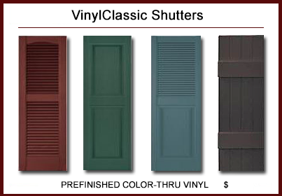 VinylClassic™ Shutters