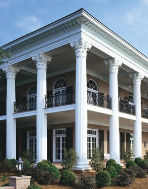 Columns, Balustrade, Cornice, Shutters and Architectural Details